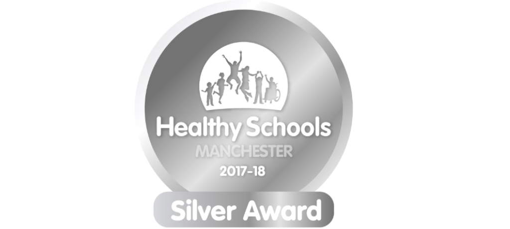 We won Silver Award from Healthy Schools Manchester!