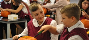 Pumpkin Carving Creations for our Year 7's