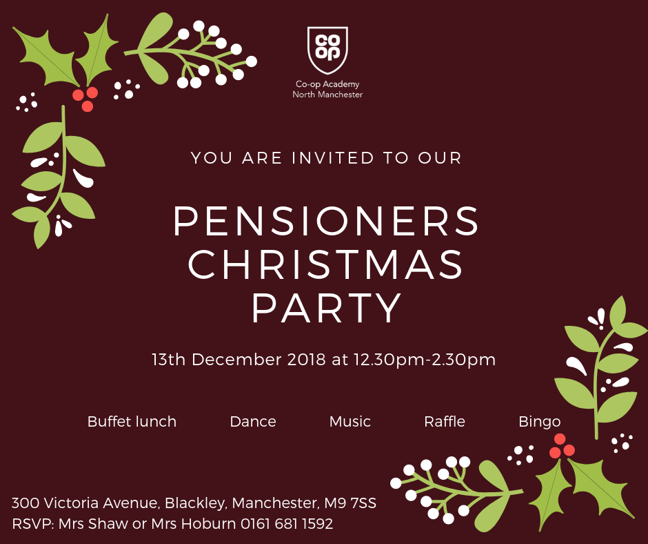 Pensioners Christmas Party