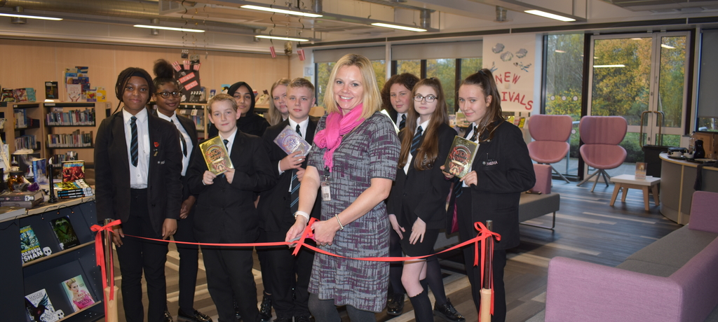 Library Launch with author Hayley Barker