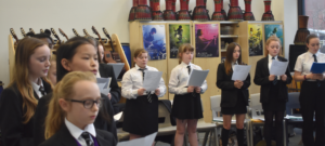 Pupils sing their hearts out as part of their extra-curricular activities