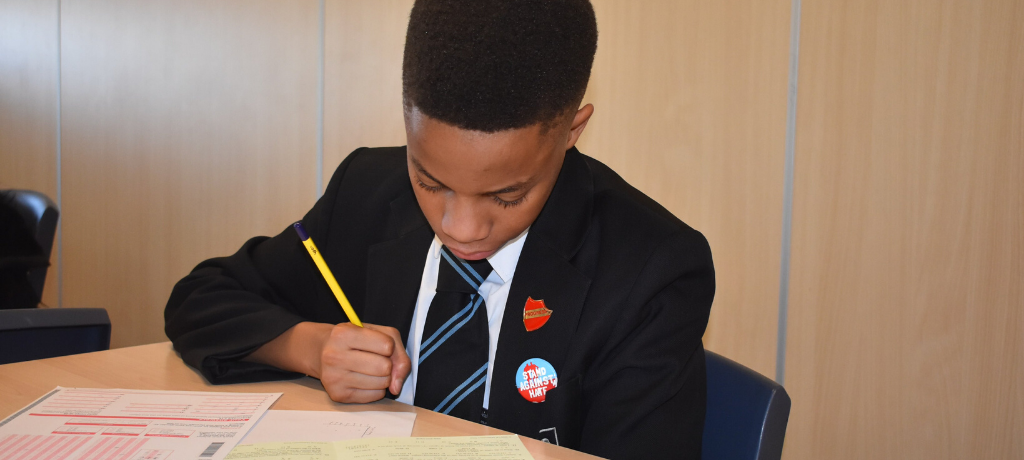 Pupils take part in National Maths Challenge