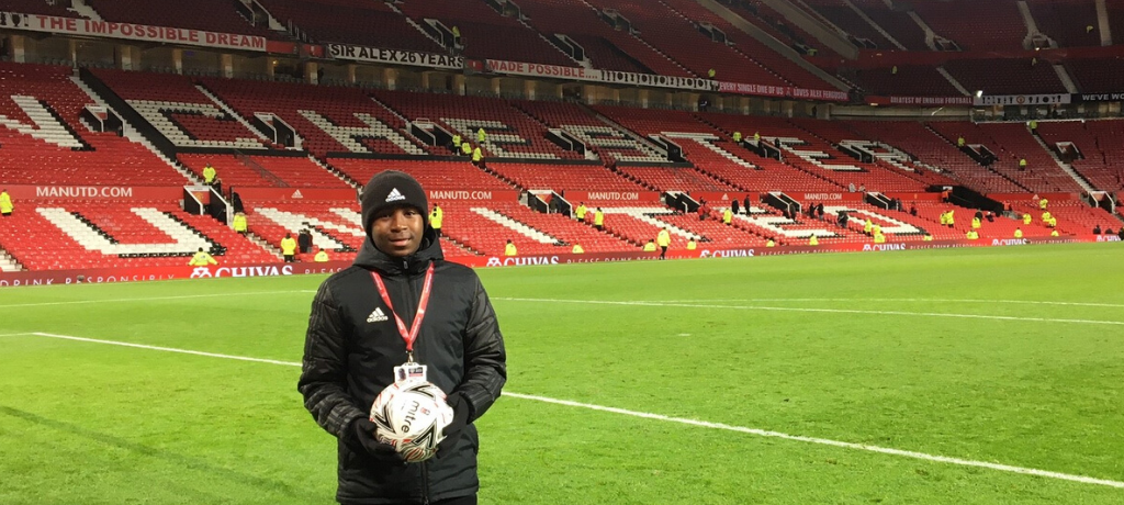 Pupils secure an exclusive role with Manchester United Football Club