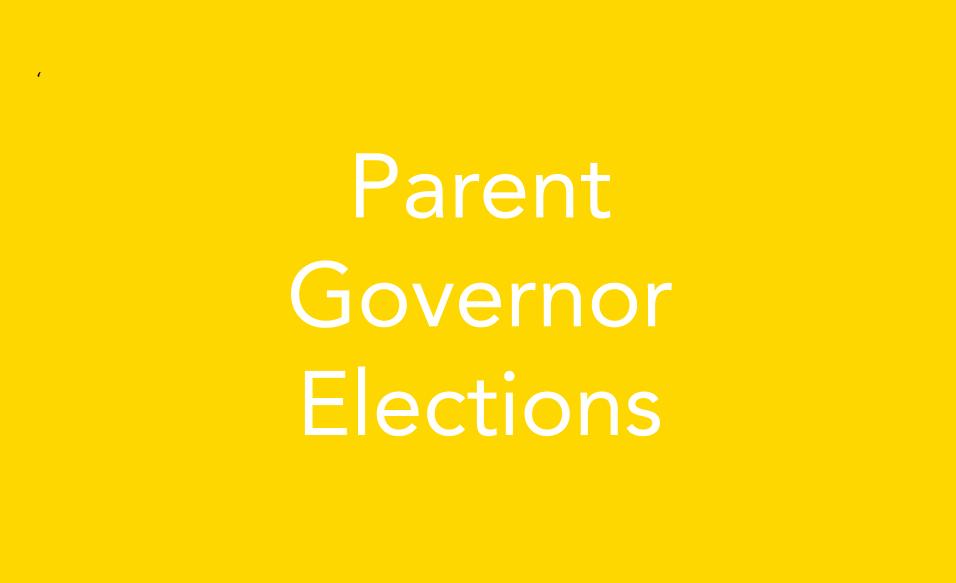 Parent Governor Elections